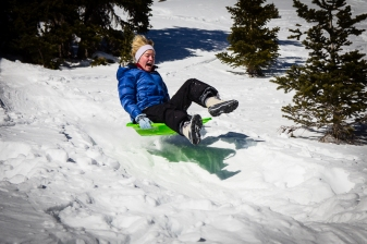 More Alpine Sledding