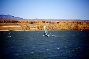 Pierce rippin it up on the Boulder Res.