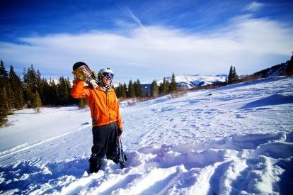 Fatty skis.
