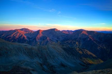 Glow on the Peaks