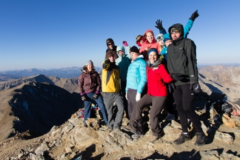 How Many Hikers Can Fit on this Rock?